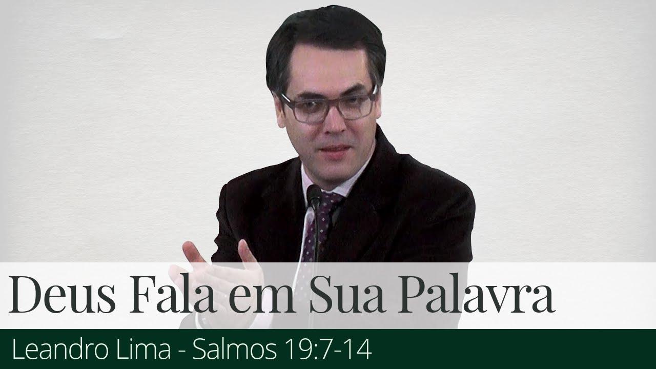Deus Fala em Sua Palavra - Leandro Lima