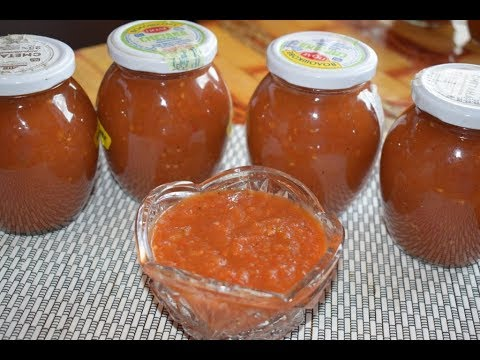 Томатный соус на зиму // Зимние заготовки