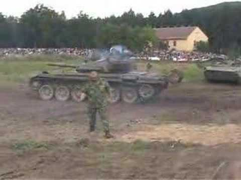 T-72 shooting gone bad