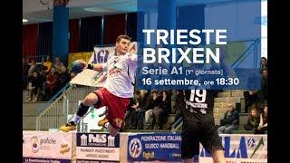 Serie A1M [1^]: TRIESTE - BRIXEN 21-21