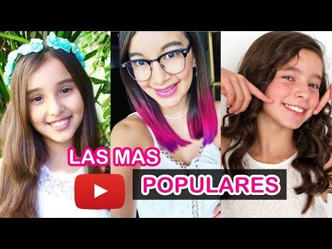 LAS 10 NIÑAS MAS FAMOSAS DE YOUTUBE 2017   Gibby :) Lulu99 Amara Que Linda  Karol Sevilla
