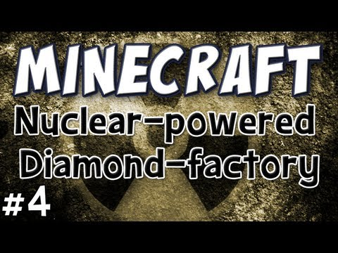 Minecraft - Nuclear Power &amp; Industrial Diamonds (Technic Pack Part 4)
