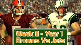 ESPN NFL 2K5 - Cleveland Browns Vs New York Jets - Week 11