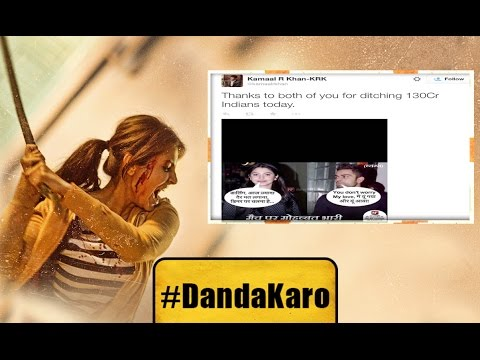 #DandaKaro – Internet Bullying - Anushka Sharma