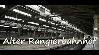 Alter Rangierbahnhof Nürnberg - Lost Place | 4k Vlog Deutsch | August 2017