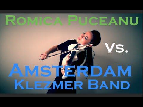 Romica Puceanu Vs. Amsterdam Klezmer Band & Shantel - La carciuma de la drum (Violin Cover)