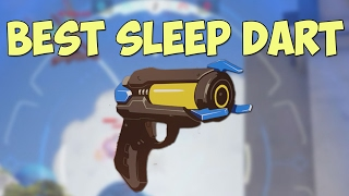 Sleep dart could kill TWO ENEMIES... | Funny Overwatch Series #2