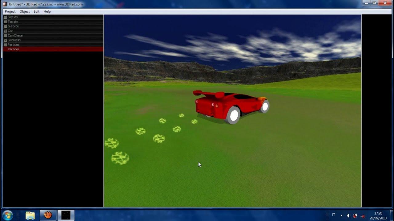 Come creare un gioco 3d per computer gratis con 3d rad for Programma per arredare in 3d