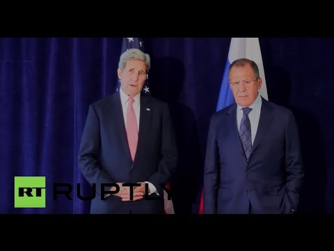 LIVE: Lavrov meets Kerry at the UN headquarters