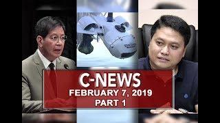 UNTV: C-News (February 7, 2019) PART 1