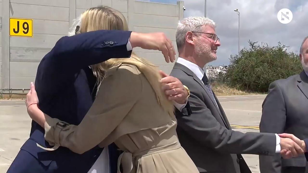 Jared Kunsher, Ivanka Trump and Steven Mnuchin land in Israel for Jerusalem embassy opening