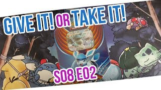 DAS aus einer TIN!? Give it or take it! S08 E02 Pokemon Booster Unboxing Opening