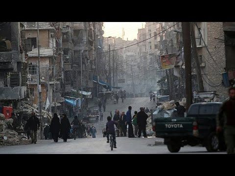 No sign of civilians or rebels leaving Aleppo despite Russian airstrikes pause - world