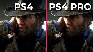 Red Dead Redemption 2 - PS4 vs. PS4 Pro Frame Rate Test & Graphics Comparison