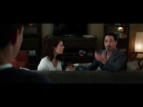 Тони Старк приходит к Питеру Паркеру ( Первый Мститель: Противостояние 2016)