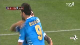 Fiorentina vs Napoli 1 3 All Goals and Highlights HD  2014  Coppa Italia Final
