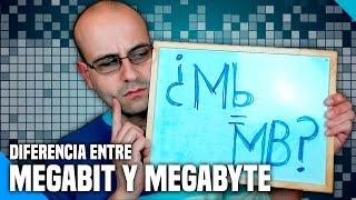 Diferencia entre Megabit (Mb) y Megabyte (MB) - (Diccionario Tecnológico) - La red de Mario