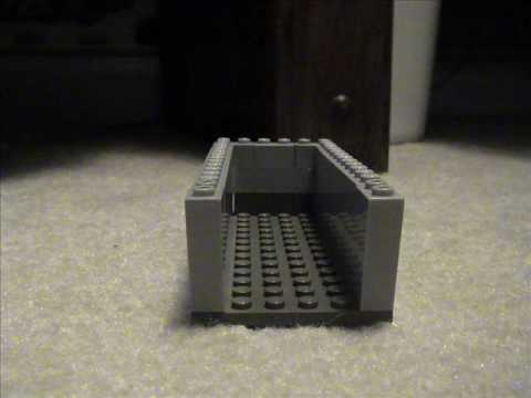 How to build a lego higgins boat
