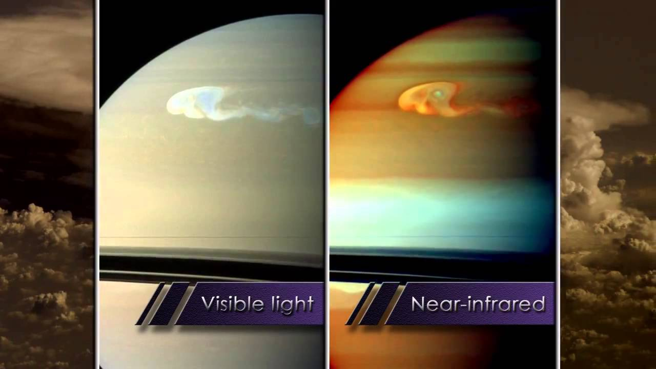saturns monster storm spotted in new detail video youtube