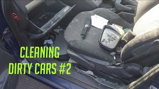 Worlds Dirty car cleaning episode 2, very satisfying to watch!
