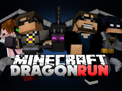 Minecraft DRAGON RUN - LAVA PIT OF DOOM!