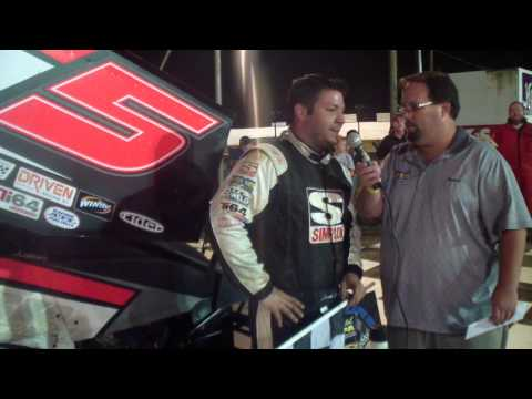 Port Royal Speedway 410 Sprint Car Victory Lane 8-30-14