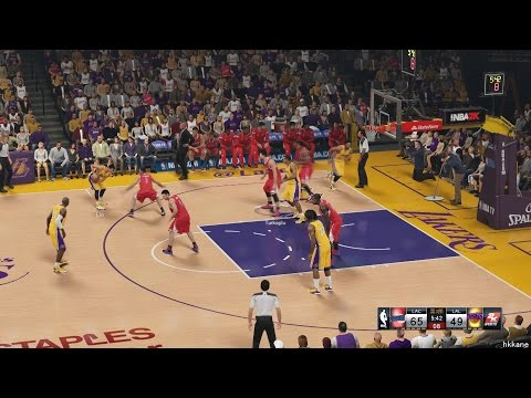 NBA 2K15 Los Angeles Clippers Vs Los Angeles Lakers 31-10-2014