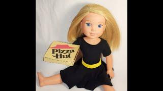 DIY Pizza Box For American Girl Dolls