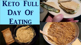 KETO Full day of eating!!! ... with Macros!