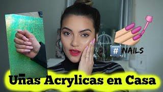 DIY | Uñas Acrylicas en Casa | Nails at Home #nails #nailsathome #DIY