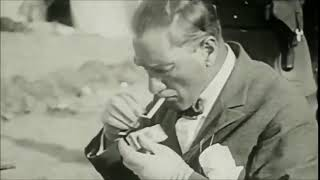 Mustafa Kemal Ataturk -- Old Movie Collector (Smoking Cigs)