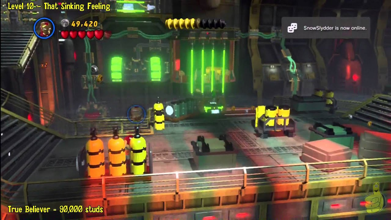 Lego Marvel Super Heroes Level 10 That Sinking Feeling