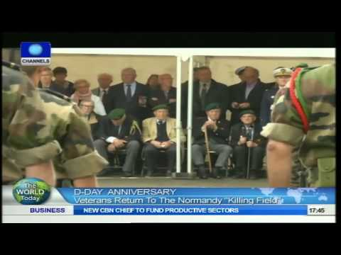 World Today: Veterans Return To The Normandy Killing Field