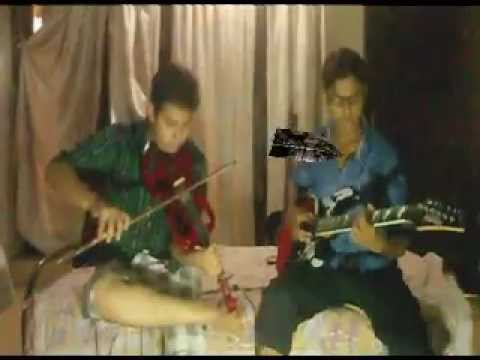 A R Rahmans The dichotomy OF FAME..INSTRUMENTAL COVER by Mrinankush and Ankur