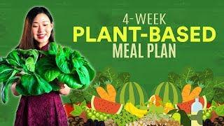 FREE 4-Week PLANT BASED Meal Plan & Recipes | Joanna Soh