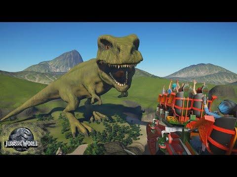 Planet Coaster - Jurassic Planet (Jurassic World Evolution - Trailer Tribute)