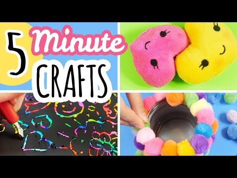 5 Minute Crafts To Do When You Are Bored
