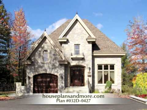 Country French Houses Video 1   House Plans and More   YouTube