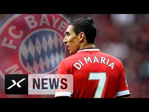 Bayern plant Mega-Transfer: Kommt Angel Di Maria?   Von Manchester United zum FC Bayern München?