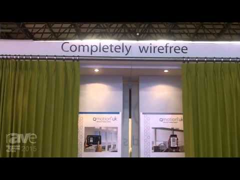 ISE 2015: Qmotion Launches Automated Drapery Rod System