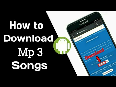 How to Download Mp3 Song For Android |SINHALA|