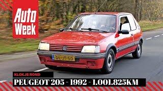 Peugeot 205 1.8 XDT - 1992 - 1.001.825 km - Klokje rond