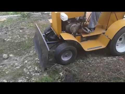 Как сделать минитрактор своими руками из мотороллера муравей