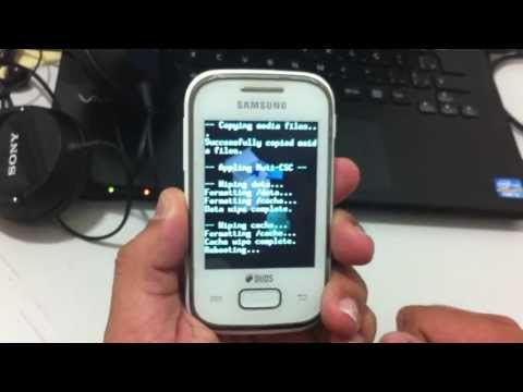 Hard reset Galaxy Pocket GT-S5302B