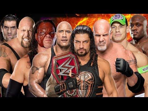 Reigns vs Cena vs Big Show vs The Rock vs Kane vs Khali vs Lashley vs Goldberg thumbnail