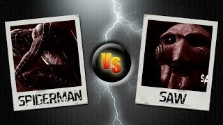 GTA San Andreas-Spiderman vs Saw