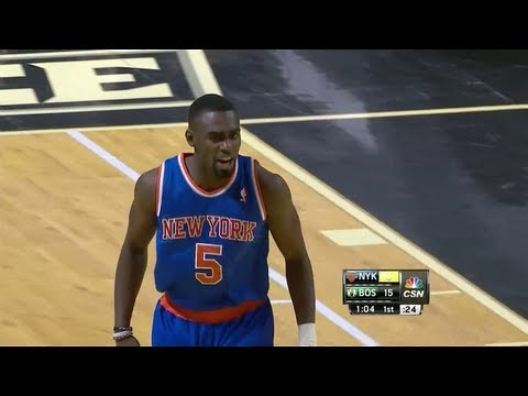 Tim Hardaway Jr. NBA Debut 16 Pts Highlights vs Boston Celtics (2013.10.09) (NBA PRESEASON)