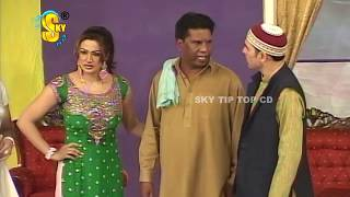 Sajan Abbas and Amanat Chan Stage Drama Full Comedy Clip