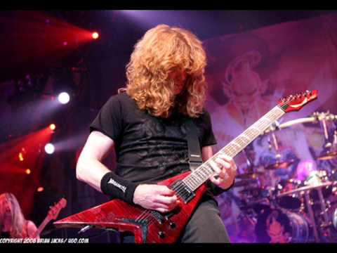 Megadeth VS Metallica - Best Guitar Solos Music Videos