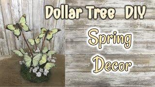 DOLLAR TREE DIY | Spring Decor Diy
